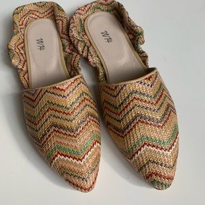 Authentic VV14 mules made in Italy